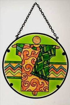 Congo Robe Suncatcher