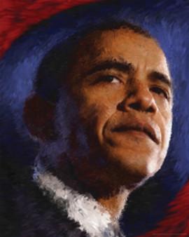 New Beginnings Obama Art Print