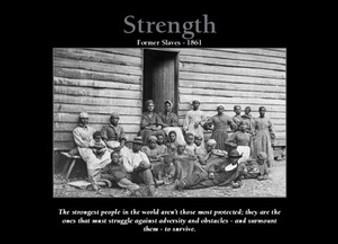 Strength (5 x 7in Framed)