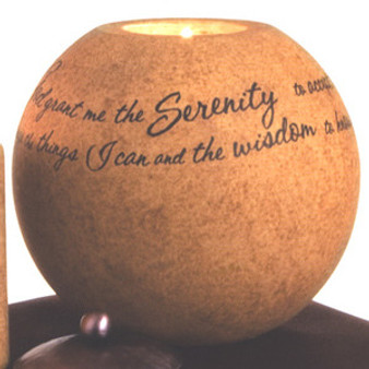 Serentiy 5in Round Candle