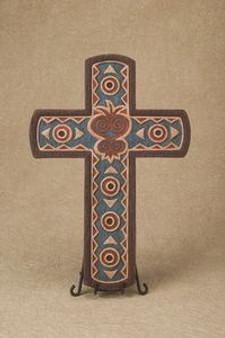Sankofa Heart Cross
