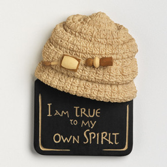 I Am True to My Own Spirit Magnet