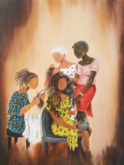 Three On One Art Print - Annie Lee