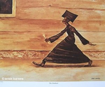 The Graduate Art Print - Ernie Barnes