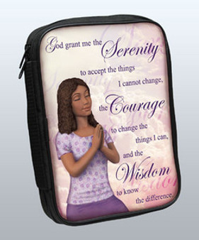 Serenity Prayer Bible Cover - 81413