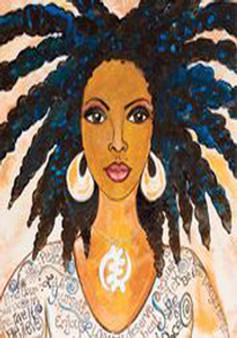 Nubian Queen Magnet - Gbaby