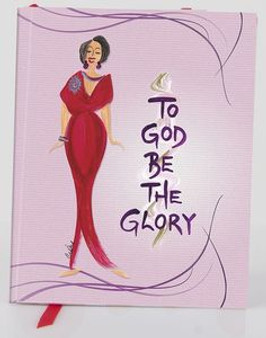 To God Be The Glory Journal (Small)