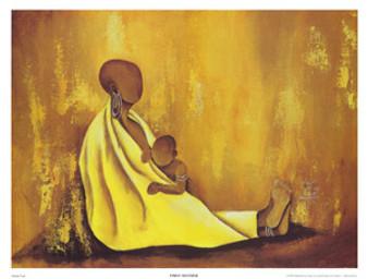 First Mother Art 12 x 16  - Annie Lee