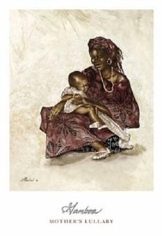 Mother's Lullaby Art Print - Consuelo Gamboa