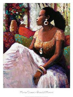 Peaceful Moment Art Print - Monica Stewart