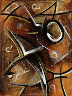 Abstract Strokes I Art Print - Gerald Ivey