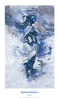 Stormy Weather I Art Print - Cullen