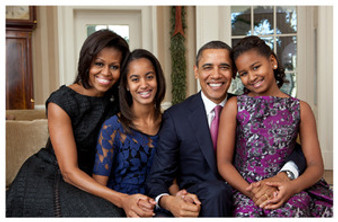 The First Family: The Obamas Art