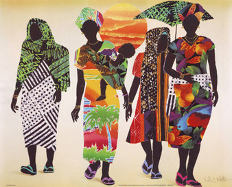 Generations Art Print - Keith Mallett