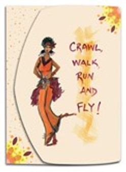 Crawl, Walk, Run & Fly Stylus Purse Pal- Cidne Wallace