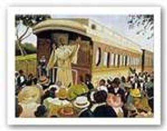 Revival Train Art Print - Lionel Talaro