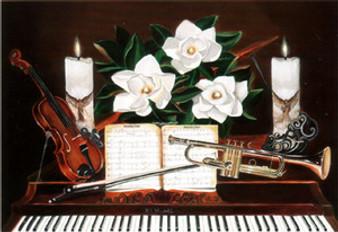 Sounds of Music 24x32 Art Print - Hermon Woodall