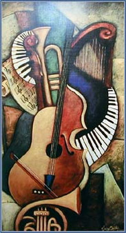 Instrumental Abstraction I (Limited Edition)--Sidney Carter