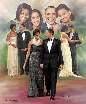 The First Family- Art Print - Wishum Gregory