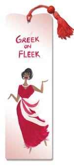 Greek On Fleet Bookmark--Cidne Wallace
