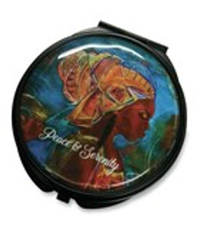 Peace and Serenity Pocket Mirror Case--GBABY