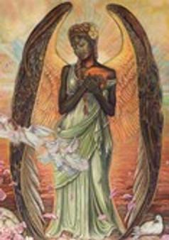 Angel of Love Magnet-- Buena Johnson