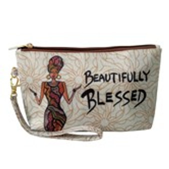 Beautfully Blessed Cosmetic Pouches -Cidne Wallace