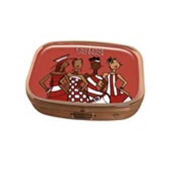 Red Sistas! Pill Box Case-Kiwi McDowell