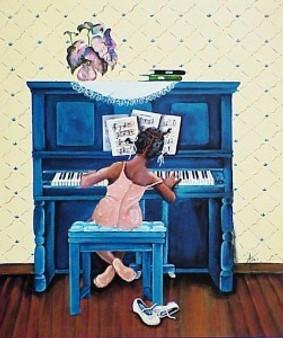 Rhapsody In A Minor Art Print - Annie Lee