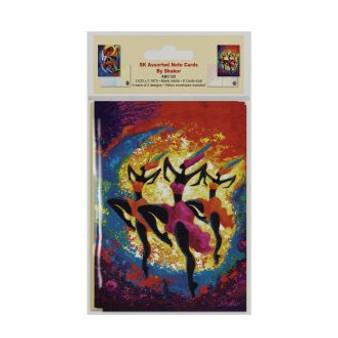 SK Assorted Note Cards--Shakor