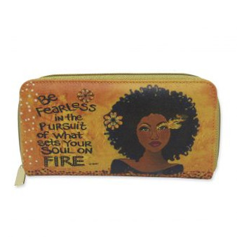 """Soul On Fire Long Wallet--Sylvia """"GBaby"""" Cohen"""