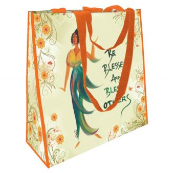 Be Blessed And Bless Others  ECO Shopping Bags--Cidne Wallace