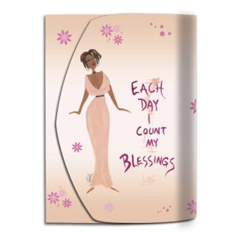 Each Day I Count My Blessings Cidne Wallace-- Purse Pals