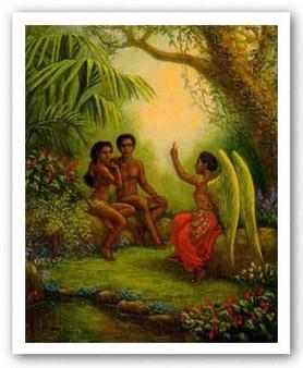 Adam and Eve  Limited Edition--Tim Ashkar