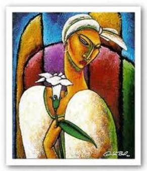 Gracious Art Print--Lashun Beal