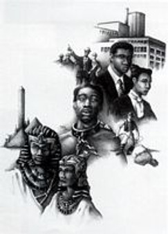 Black American Dream Art Print--JC Bakari
