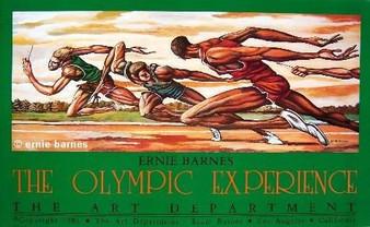The Olympic Experience  Art Print-- Ernie Barnes