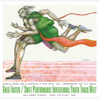 Swift Performance (Signed) Art Print--Charles Bibbs