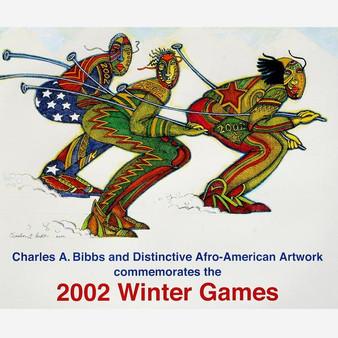 Ski Mask (Signed) Art Print--Charles Bibbs