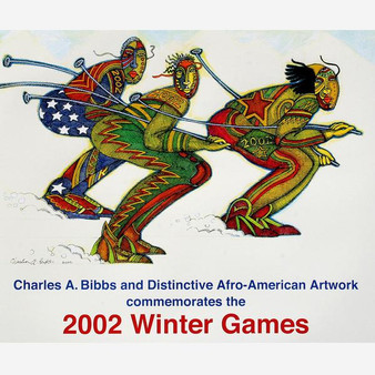 Ski Mask Art Print--Charles Bibbs