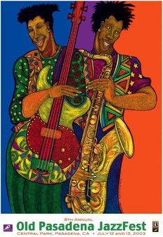 Color of Jazz (Signed)Art Print--Charles Bibbs