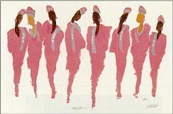 Sisters of the Vine (AKA) Art Print--Ted Ellis