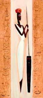 Nubile Nubian II Art Print-- A.Gockel