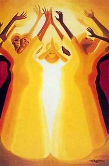 Blessings Limited Edition Art Print--Bernard Hoyes