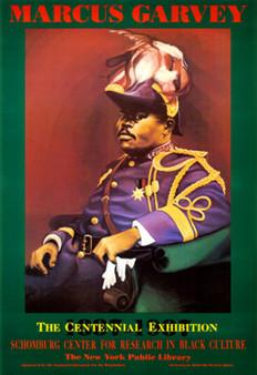 Marcus Garvey Art Print-- Bernard Hoyes