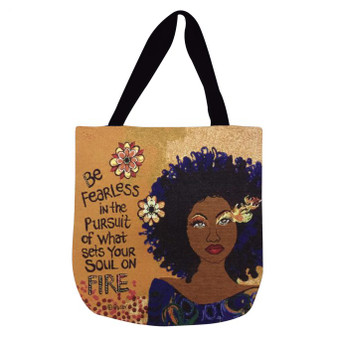 Soul On Fire Woven Tote Bag --Gbaby
