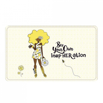 Bee Your Own Insp-HER-ation Memory Foam Floor Mat --Kiwi McDowell
