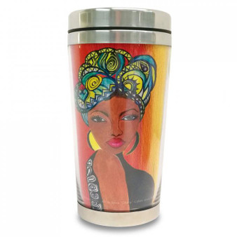 Blessed To Live Without Stress Travel Mug