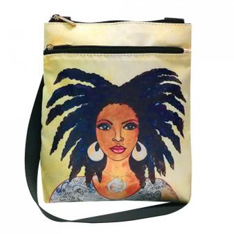 "Nubian Queen Travel Purse-- Sylvia""Gbaby""Cohen"