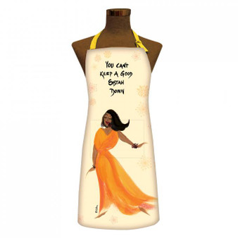 You Can't Keep A Good Sistah Down Apron Aprons-- Cidne Wallace